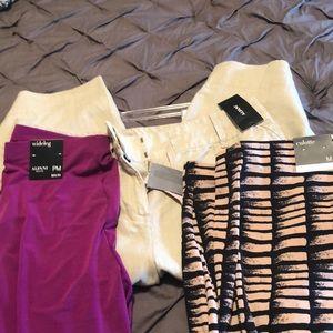 THREE pairs of NWT pants!!